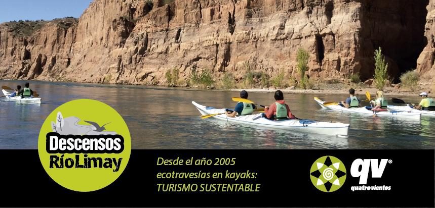 Travesías en kayaks Río Limay